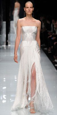 versace: Versace ️, Milan Fashion, Formal Dresses Gowns, White Mix Dresses, Couture Dresses, Formal Attire, Amazing Dresses