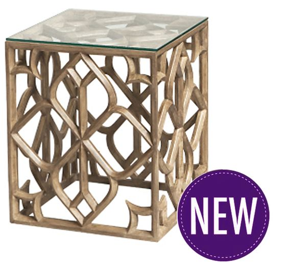 Filigree Timber Side Table