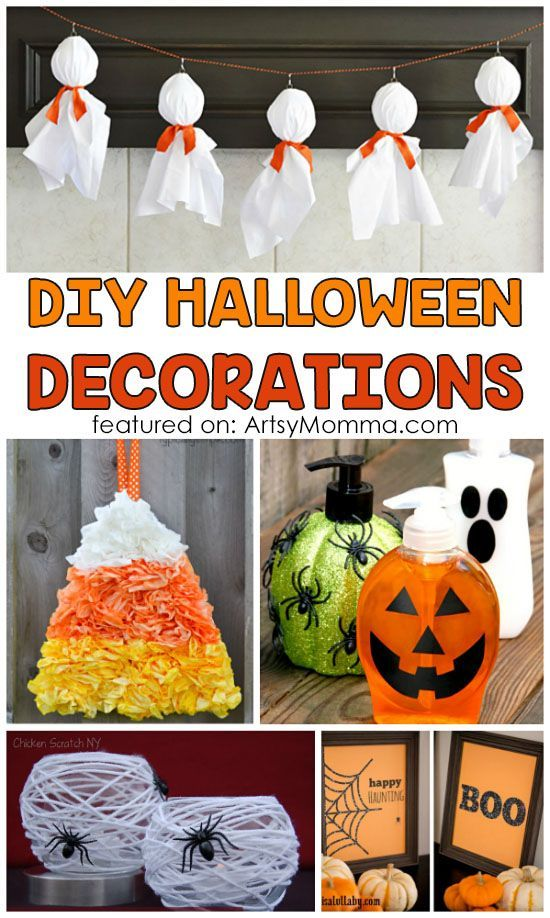 Easy Diy Halloween Decorations Adults Can Make That Are Kid