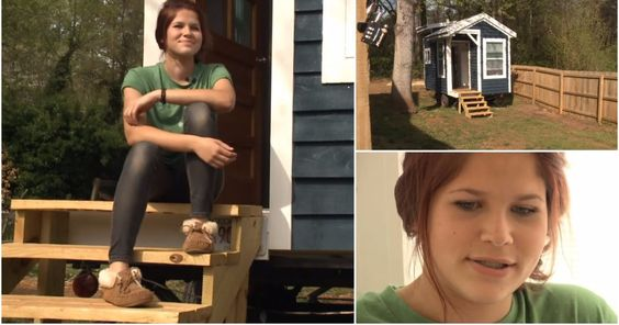 She's just like any other teen...except for the fact that she has her own house…