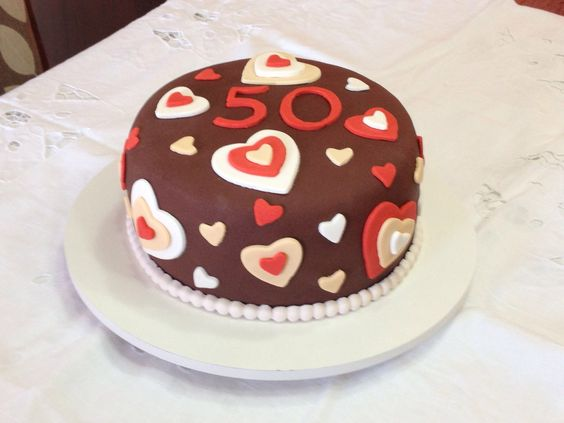 Cinqüenta anos comemorados com muito chocolate!!