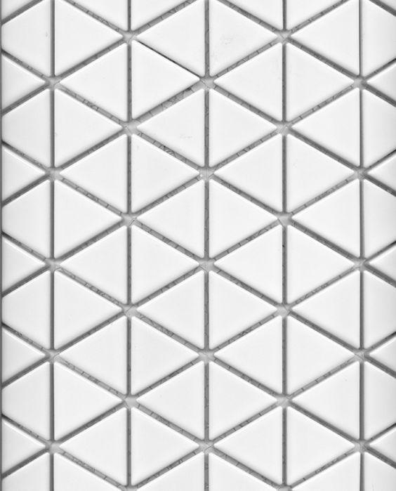 Ceramic Mosaic Triangle 76764 By Academy Tile Richmond