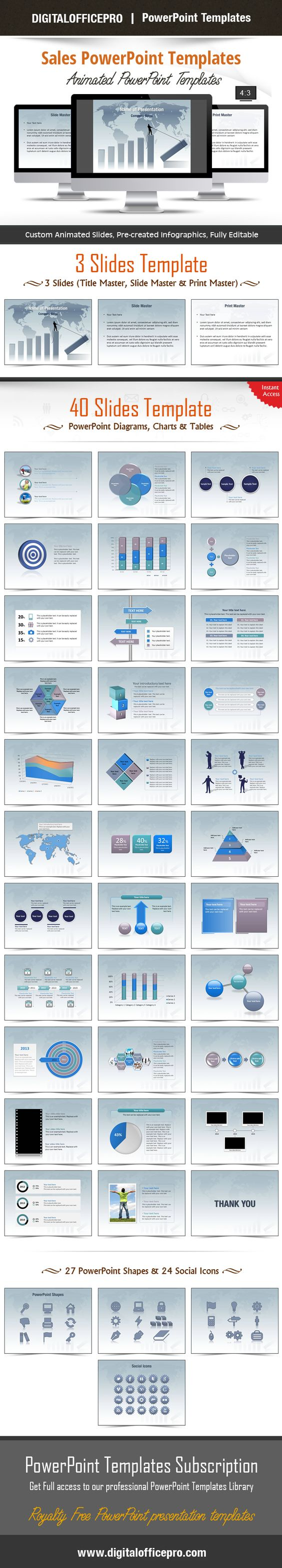 Sales powerpoint template backgrounds alramifo Images