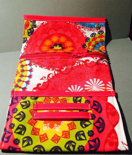 Pochette à tabac / blague à tabac /  coloré / tissu mexicain / étuis à tabac