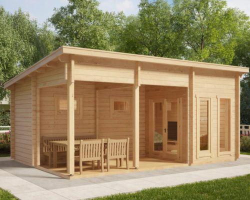 Gartenhaus Mit Sauna Kaufen Gratis Lieferung Hansagarten24 Gartenhaus Mit Sauna Saunahaus Gartensauna