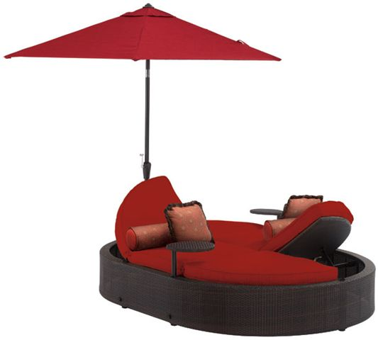 unique patio furniture | Whitley Oval Chaise Lounge by La-Z- Boy Outdoor offers flexible style ... | Home Outdoor Furniture | Pinterest | Chaise lounges ...  sc 1 st  Pinterest : lazy boy chaise lounge - Sectionals, Sofas & Couches