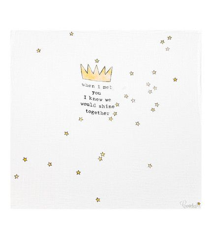 Baby Blanket - Crown - Brimful
