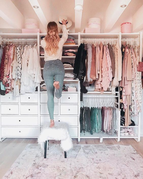 Open wardrobe, traditional wardrobe, furniture