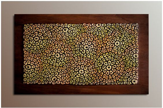 Wall Sculpture  Wood Wall Panel   Textured by JeemadoDecor on Etsy