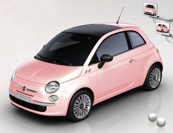 must have pink car love pink pinterest voitures italien et autos. Black Bedroom Furniture Sets. Home Design Ideas