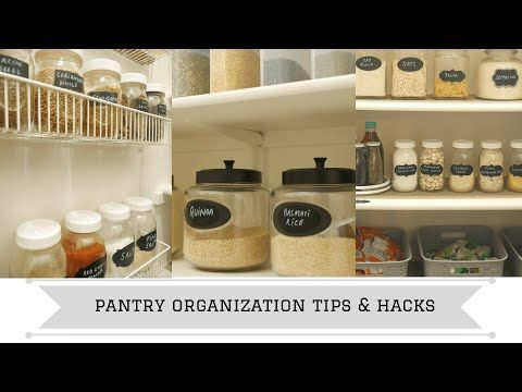 Pantry Organization Tips And Hacks Spring Cleaning 2019
