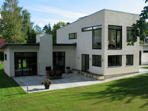 Neo-functionalist House Close to Nature, History and Cool Copenhagen, Denmark