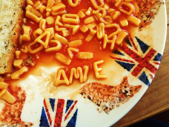 alphabetti spaghetti lunch
