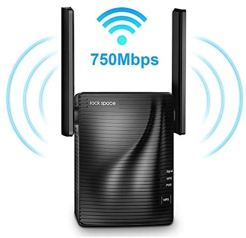 Wifi Range Extender 750mbps Wifi Repeater Wireless Signal Booster 2 4 5ghz Dual Band Wifi Extender With Ethernet In 2020 Signal Boosters Wifi Extender Dual Band