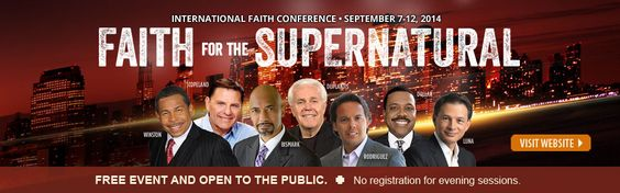 The International Faith Conference is life changing. http://ifc.billwinston.org/  I have attended since 2009 and the knowledge and wisdom that is taught is invaluable! Personal favorites: Dr.Bill Winston, Bishop Tudor Bismarck and Dr. David Oyedepo. Located in Forest Park, IL always in September!