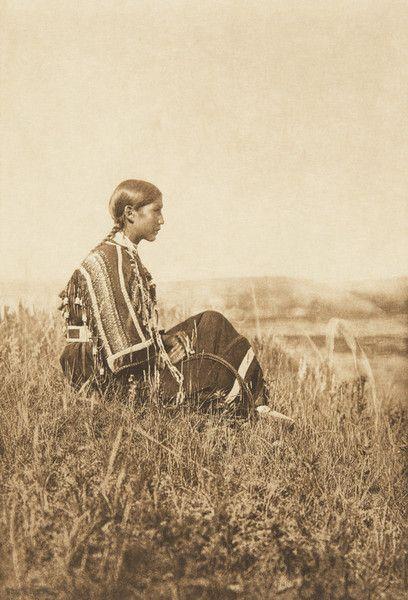 Day-Dreams - Piegan (The North American Indian, v. VI. Cambridge, MA: The University Press, 1911):