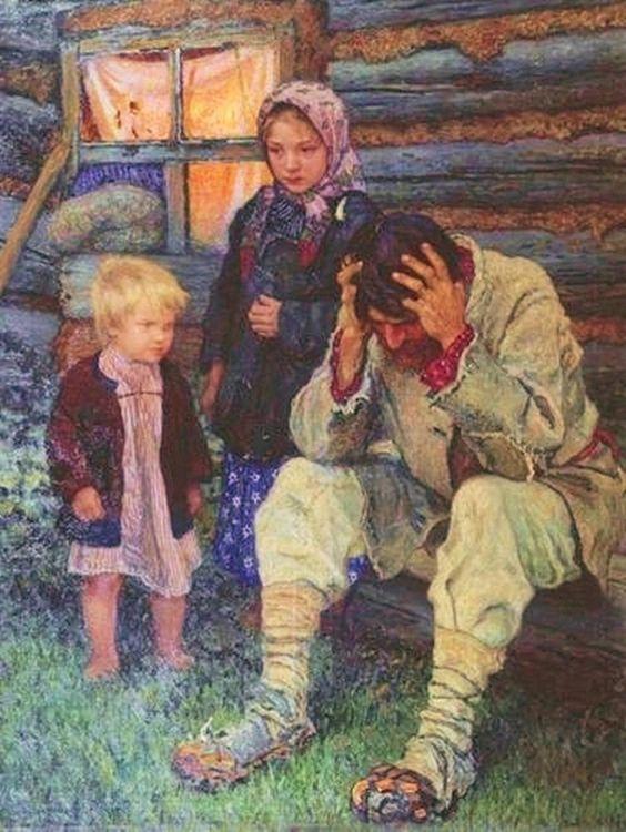 nikolai-bogdanov-belsky-grief-1909