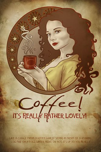 Coffee, lovely!