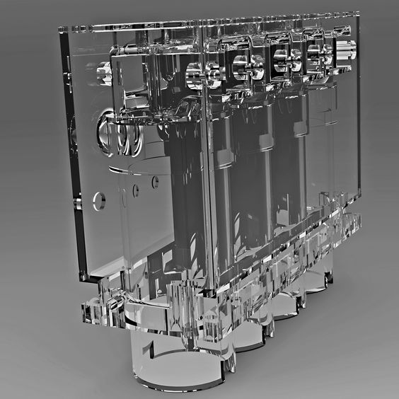 Image result for glass engine block