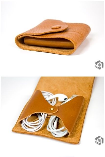apple earphones and cable organizer