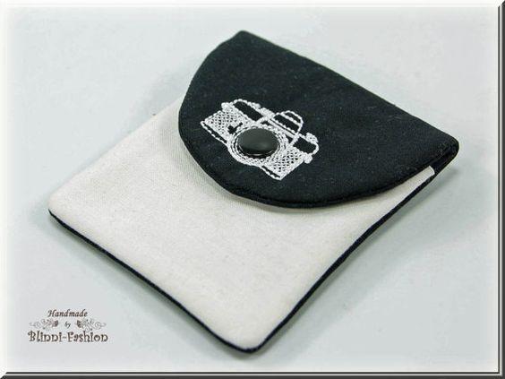 Tasche für Kamera-Zubehör Kameratasche schwarz / von BlinniFashion