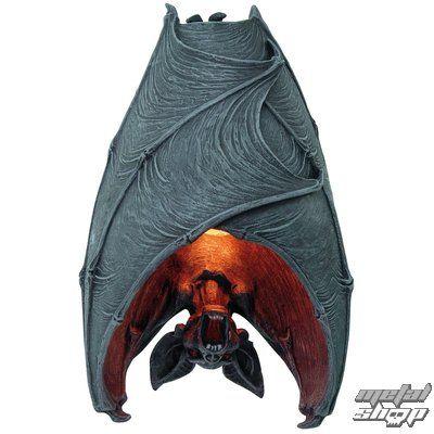 hanging Vampire Bat wall sconce:
