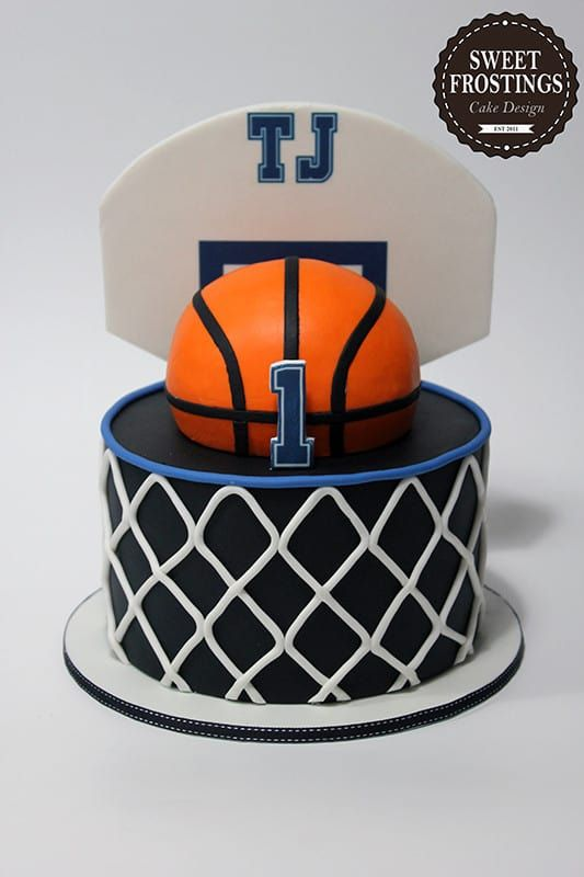 Basketball Cakes Cookies Food Ideas In 2020 Basketball Birthday Cake Basketball Cake Birthday Cake Kids