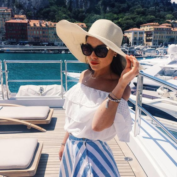 Brunch in the sun with Louise Thompson | DRESSR