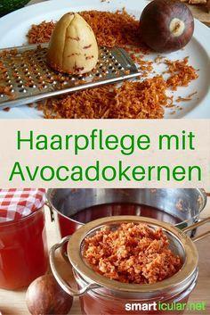 Der Avocadokern ist viel zu wertvoll, um ihn wegzuwerfen. Finde heraus, wie du seine gesunden Inhaltsstoffe für selbstgemachte Haarpflegeprodukte verwendest