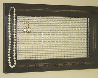 jewelry hanger for the wall - Google Search