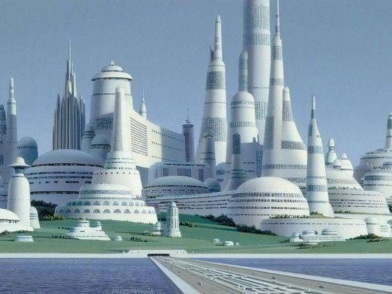 Indische Tempel in der Zukunft