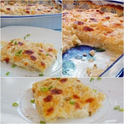 Πατάτες au gratin / Potatoes au gratin !!