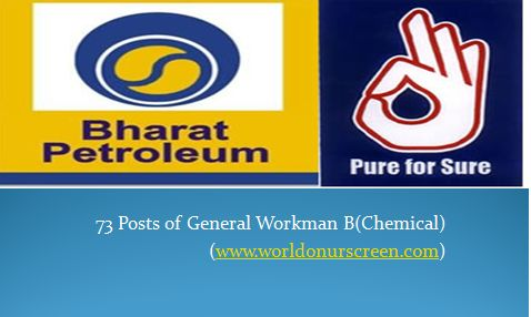 Jobs in Bharat Petroleum Corporation Ltd Jobs Portal Pinterest - chemical engineering job description