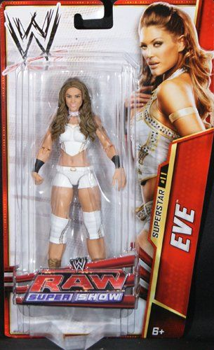 Wwe Girl Toys : Eve torres wwe series mattel toy wrestling « game