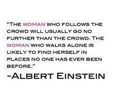 I make my own path...