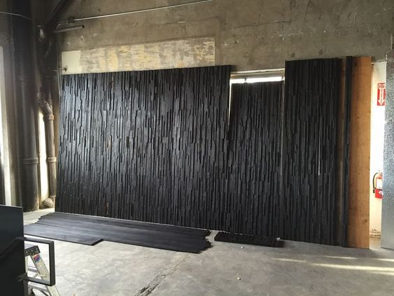 charred-wood-wall Charred wood, Wood walls and Woods - innenarchitekt krasimir kapitanov
