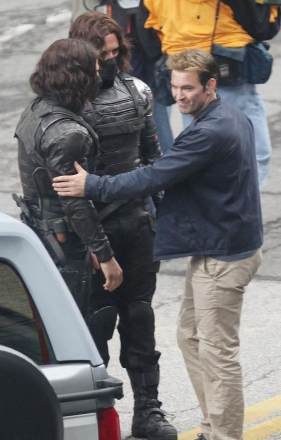 Captain America: The Winter Soldier stunt doubles. why haven't i seen these yet
