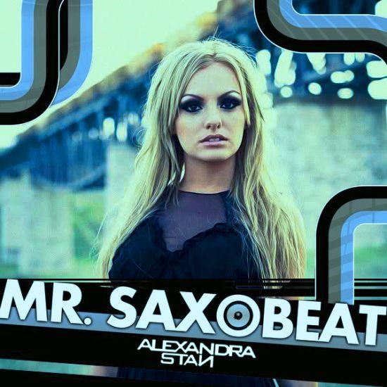 Alexandra Stan – Mr. Saxobeat (single cover art)