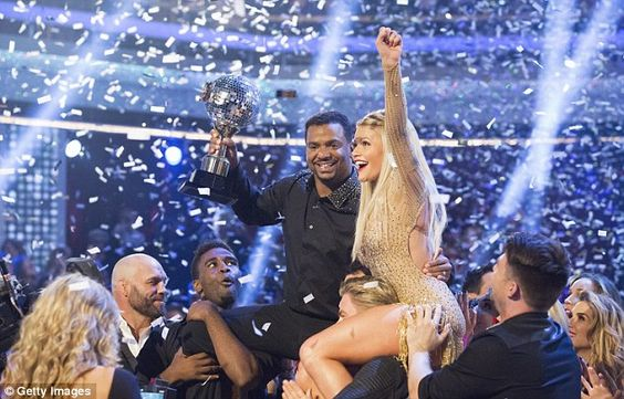 Dancing With The Stars winner Alfonso Ribeiro crowned ballroom champion   Daily Mail Online