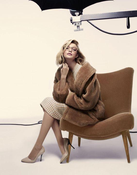 Nur It-Girl war gestern: Gigi Hadid als Business-Lady für Max Maras Herbst/Winter-Kampagne 2015