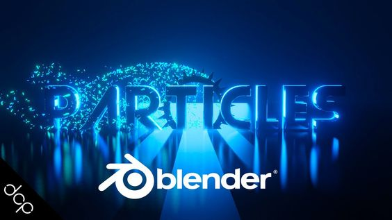 3d Text And Particles Intro Animation Blender 2 8 Tutorial Blender Tutorial Blender 3d Tutorial