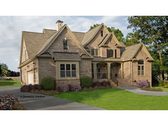 European style square feet and english cottages on pinterest for English stone cottage plans