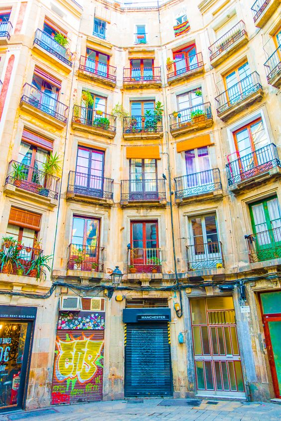 The Palau de la Música Catalana is nestled right in the heart of Barcelona's Gothic Quarter.
