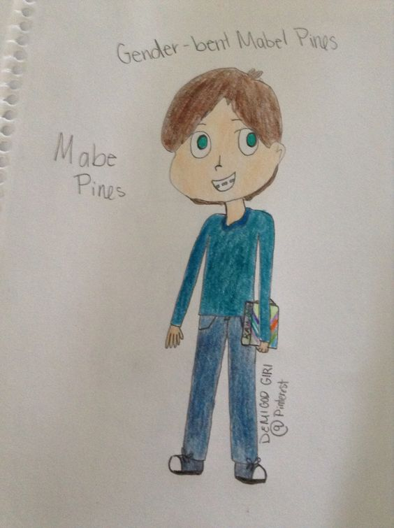 Genderbent Mabel Pines-Mabe Pines-By Demigod Girl