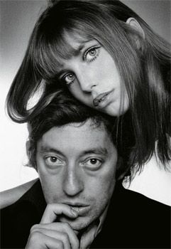 Serge et Jane, le couple mythique et scandaleux, à l'époque des temps heureux. Ils chantaient «La décadanse», avant que n'arrive la vraie décadence. (Just Jaeckin/Sygma/Corbis)