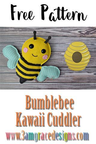 The Cutest Amigurumi — Easy Patterns and Tutorials | Crochet bee ... | 480x320