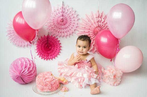 Ballon baby photography