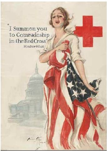 U.S. Red Cross poster, WWI