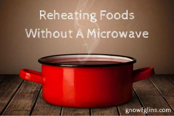 how to cook microwave food without a microwave