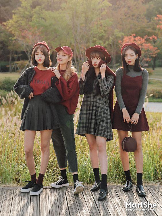 #korean, #similar #look Есенна мода